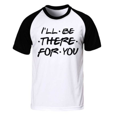 Camiseta Raglan Friends - I'll Be There