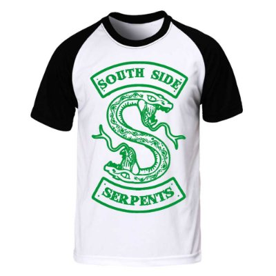 Camiseta Raglan Riverdale - Serpents