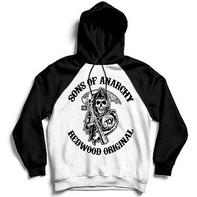 Moletom Raglan Sons of Anarchy - Redwood Original