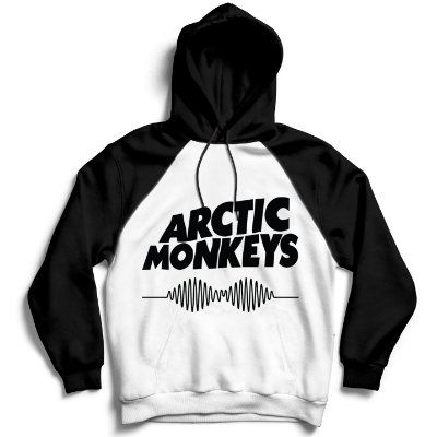 Moletom Raglan Arctic Monkeys