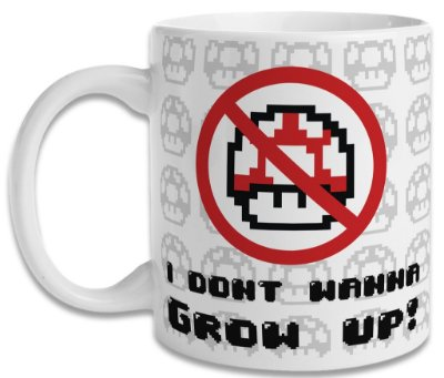 Caneca I Don't Wanna Grow Up