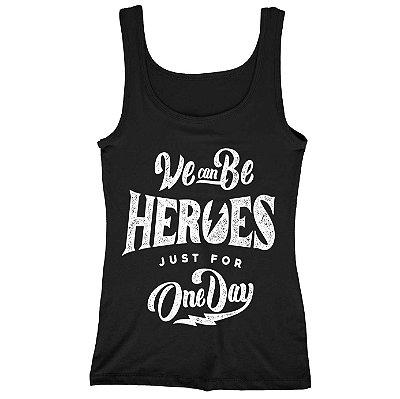 Regata Feminina Heroes For One Day