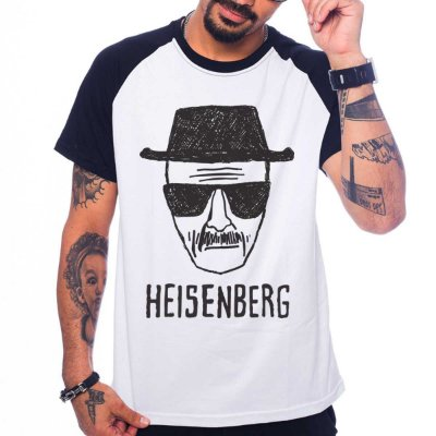 Camiseta Raglan Breaking Bad - Heisenberg