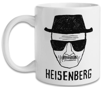 Caneca Breaking Bad Heisenberg