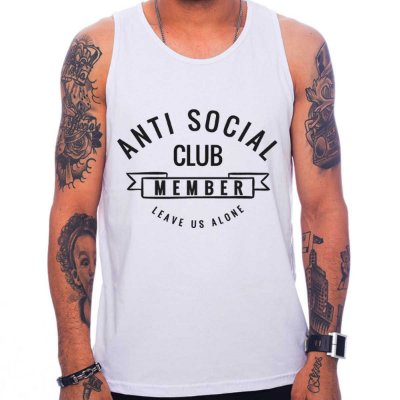 Regata Masculina Anti Social Club