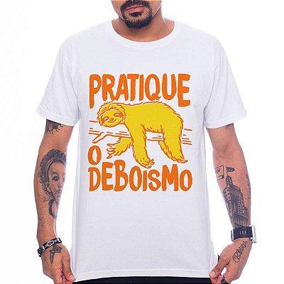 Camiseta Pratique o Deboismo