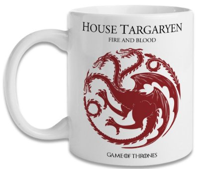 Caneca Game of Thrones - House Targaryen
