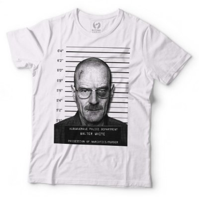 42d58d78a Camiseta Breaking Bad - Heisenberg - Blitzart - Camisetas Legais ...