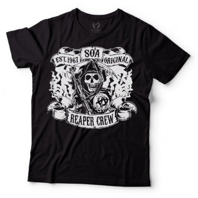 Camiseta Sons of Anarchy - Reaper Crew