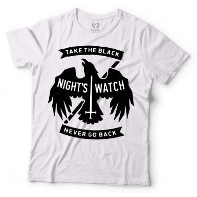 Camiseta Game of THrones Nights Watch - Take The Black