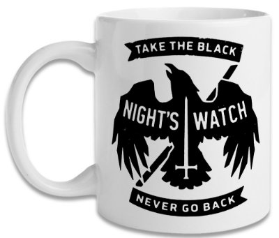 Caneca Game of Thrones - Night's Watch