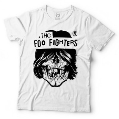 Camiseta Foo Fighters - Skull