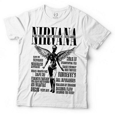 Camiseta Nirvana - In Utero
