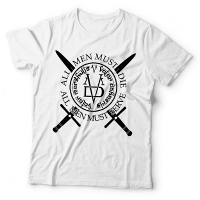 Camiseta Game of Thrones Valar Morghulis