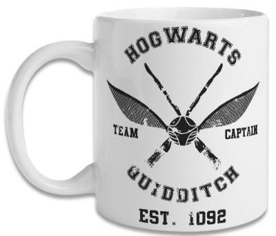 Caneca Harry Potter - Quadribol
