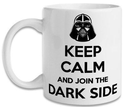 Caneca Star Wars Keep Calm Dark Side