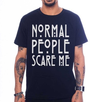 Camiseta American Horror Story - Normal People Scare Me