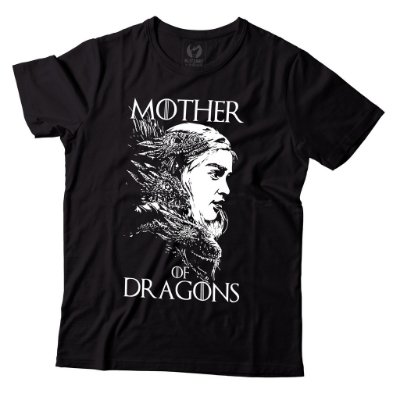 Camiseta Game of Thrones - Mother of Dragons