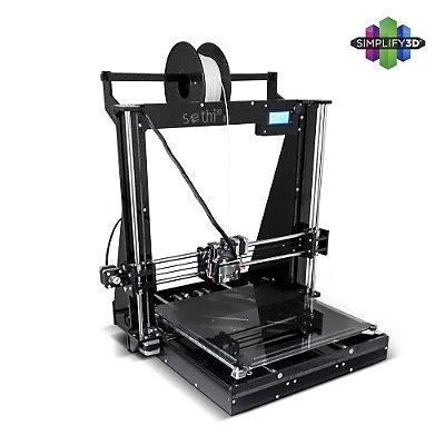 Impressora Sethi3D BB - 1.75mm com Simplify3D®
