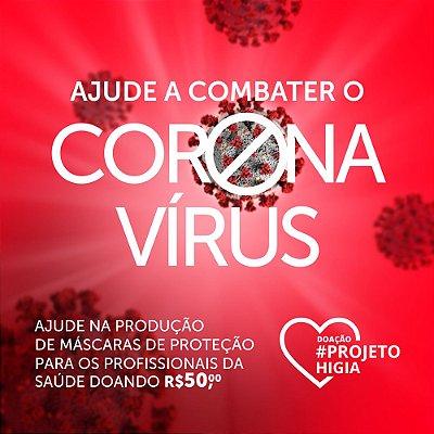 Doação R$ 50,00 - Combate ao Corona Vírus