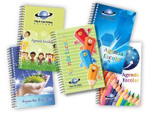 100 Agendas escolar infantil personalizada