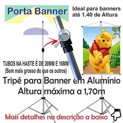 Porta Banner 1,70 M Para Banner até 1,40