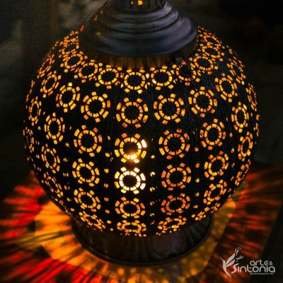 "Lanterna Indiana ""Arabesco"" 33cm"