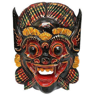 Escultura Barong 50cm em Madeira - Bali