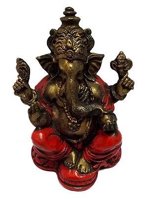 "Escultura ""Lord Ganesha"" em Resina - Bali"