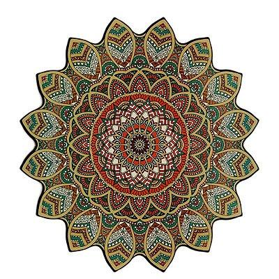 """Mandala """"Samsara"""" em MDF 38cm"""
