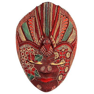 Máscara Decorativa Batik 28cm