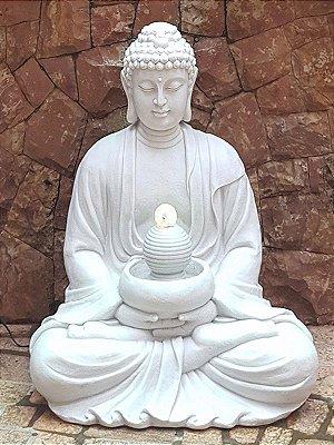 Fonte Buda Decoração de Jardim 85cm