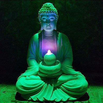 Fonte de Buda p/ Decoração de Jardim 85cm