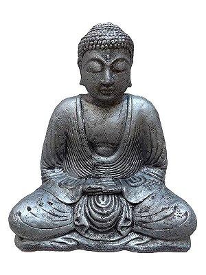 Buda Cimento 30cm - Cinza