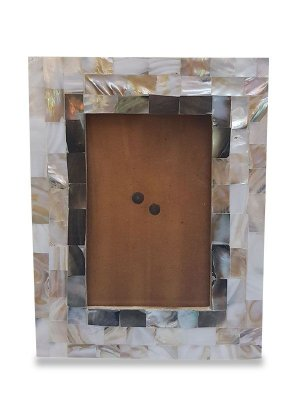 Porta Retrato Indiano Madrepérolas