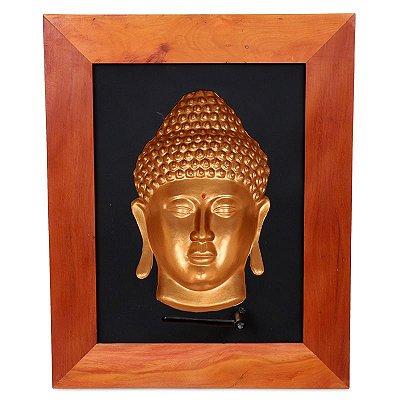 Quadro Iluminado Buda 3D - Grande