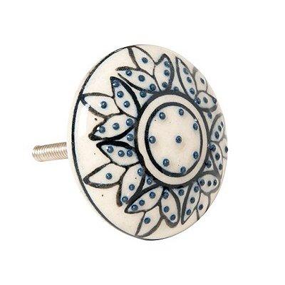 Puxador de Porta e Gaveta em Cerâmica