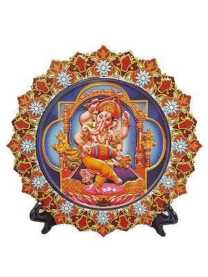"Mandala Decorativa Deus ""Ganesha"" - Hindu"