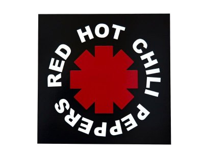 "Placa Decorativa ""Red Hot Chili Peppers"""