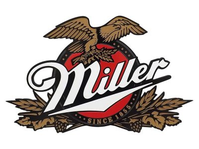 Placa Decorativa Cerveja Miller