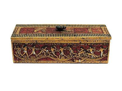 Caixa Decorativa Arte Egípcia