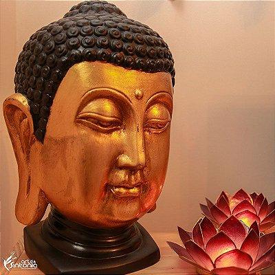 Cabeça de Buda Dourada 35cm