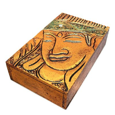 Caixa Buda Gold - Arte Bali
