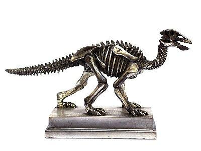 Escultura Esqueleto Dinossauro Sacisaurus