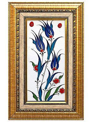 Azulejo Turco c/ Moldura 28x18cm