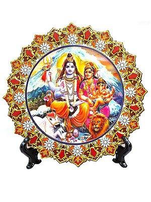 "Mandala Decorativa ""Família Deuses Hindu"""