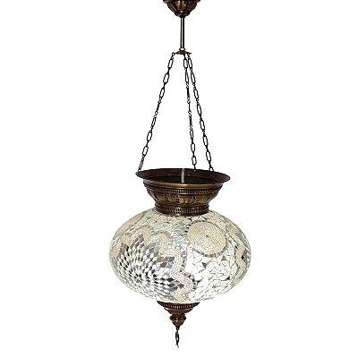 Luminária Pendente em Mosaico Turco