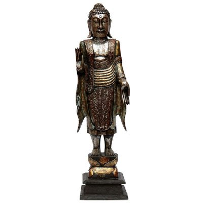 Escultura Buda de Pé 110cm - Arte Bali