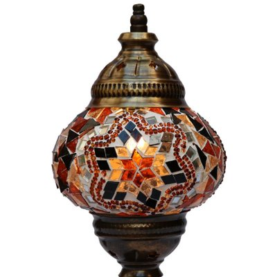 Abajur c/ Mosaico Turco 32cm
