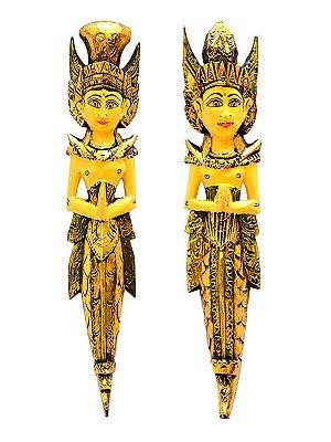 Casal Rama e Sita 60cm - Amor Eterno